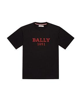 Bally - Embroidered Logo Tee