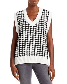 FORE - Houndstooth Sweater Vest