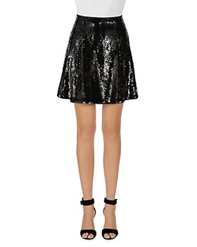 Armani - Sequined Mini Skirt