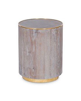 Vanguard Furniture - Finch Gray Oak Round Spot Table