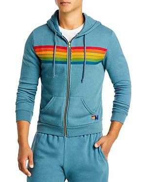 Six Stripe Full Zip Hoodie