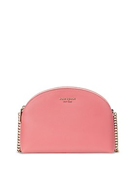 kate spade new york - Spencer Saffiano Leather Double Zip Dome Crossbody