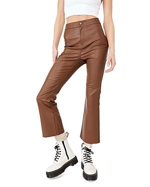 Sasha Cropped Vegan Pants