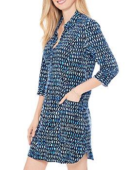 NIC and ZOE - Blue Mosaic Dress