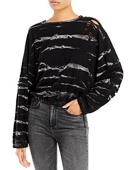Vintage Havana - Cotton Ripped Sweatshirt