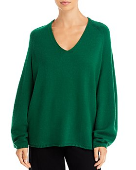 Lafayette 148 New York - Sculpted Sleeve Cashmere Sweater