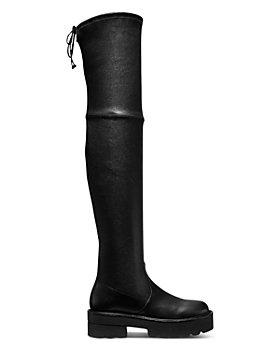 Stuart Weitzman - Women's Lowland Ultralift Over The Knee Platform Boots