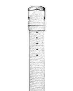 Philip Stein - Philip Stein Glitter White Calf Watch Strap