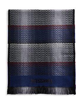 Missoni - Sciarpa Wool Micro Zigzag Plaid Scarf