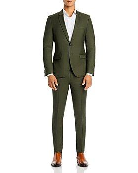 HUGO - Arti & Hesten Textured Solid Extra Slim Fit Suit Separates