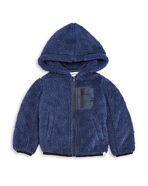 Sovereign Code Boys' Teddy Fleece Hooded Jacket - Baby