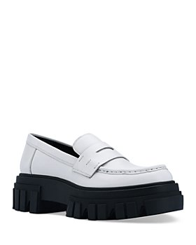 Marc Fisher LTD. - Women's Morris Leather Lug Sole Loafers