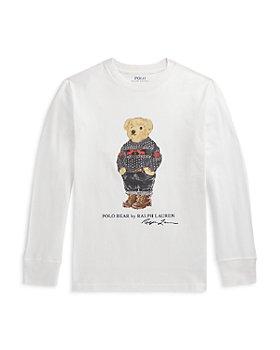 Ralph Lauren - Boys' Polo Bear Cotton Tee - Little Kid, Big Kid