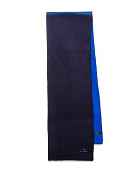 Paul Smith - Wool Color Blocked Dip Dyed Scarf