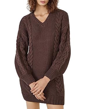 Sweater Knit Mini Dress