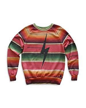 Striped Bolt Sweatshirt