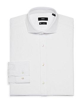 BOSS - Jason Performance Stretch Solid Slim Fit Dress Shirt