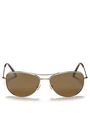 kate spade new york Ally Polarized Aviator Sunglasses, 60mm