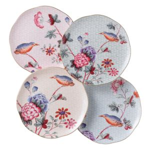 Wedgwood Cuckoo Tea Story Tea Plates, Set of 4
