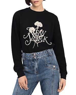 Derek Lam 10 Crosby Aubrey Graphic Sweatshirt