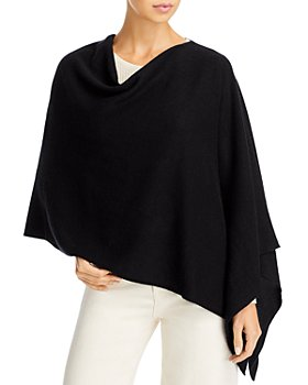C by Bloomingdale's - Cowl Neck Cashmere Poncho - 100% Exclusive