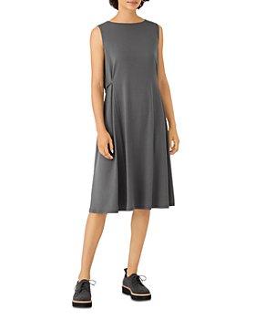 Eileen Fisher - Jersey Tie Waist Dress