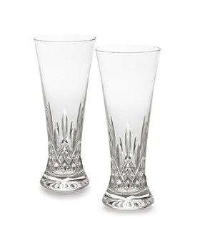 Waterford - Lismore Pilsner Glass, Set of 2