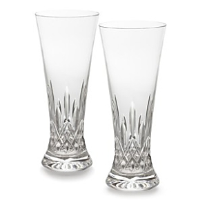 Waterford Lismore Pilsner Glasses, Set of 2