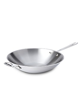 """All-Clad - Stainless Steel 14"""" Open Stir Fry Pan"""