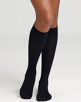 HUE - Soft Opaque Knee Highs