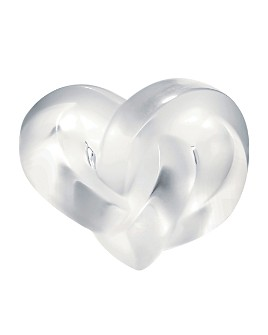 Lalique - Heart Paperweight Clear by Lalique