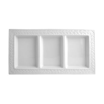 Bernardaud - Louvre 3 Section Tray