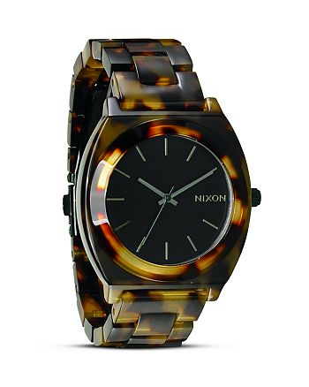 Nixon - The Time Teller Acetate Watch, 40mm