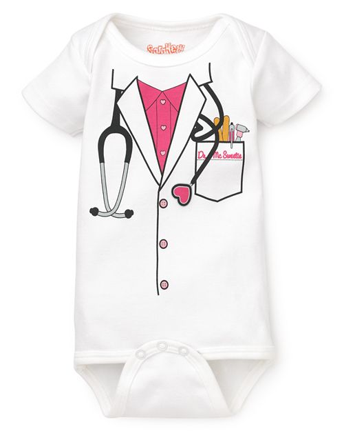 Sara Kety - Girls' Doctor Bodysuit - Baby