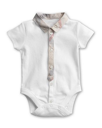 72cabd163ae1 Burberry Boys  Layette Tannar Short Sleeve Bodysuit - Baby ...