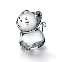 Baccarat Minimals Kitty Figurine - Bloomingdale's_0