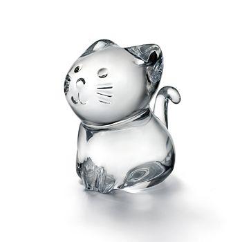 Baccarat - Minimals Kitty Figurine