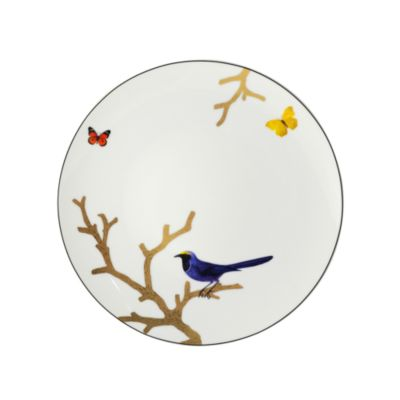 Aux Oiseaux Porcelain Rectangular Tray