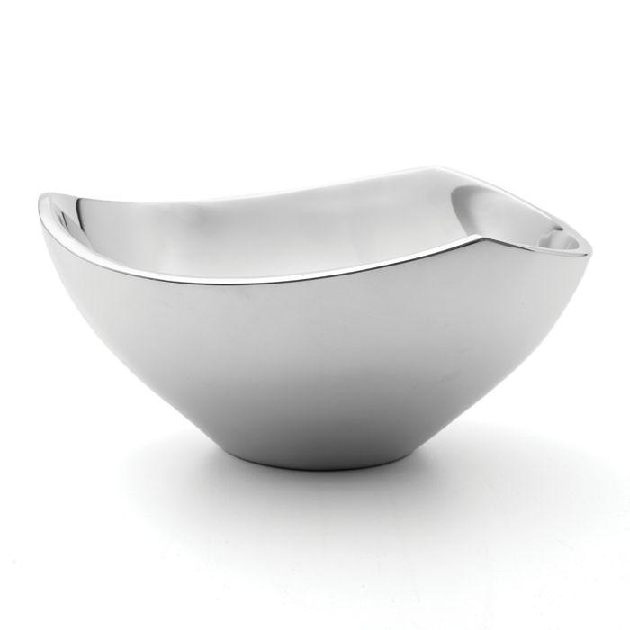 "Nambé - Tri-Corner Bowl, 9"""