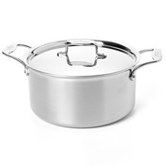 All-Clad d5 Stainless Brushed 8-Quart Stock Pot with Lid - Bloomingdale's_0