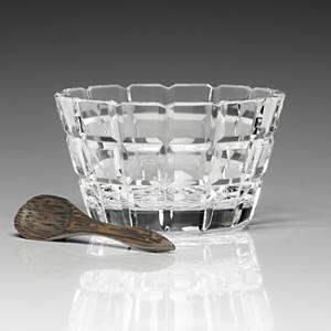 William Yeoward Crystal Blodwyn Salt Dish & Spoon