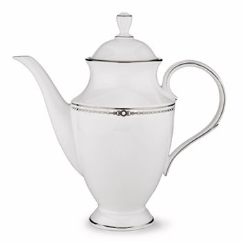 Lenox - Pearl Platinum 48oz. Coffee Pot