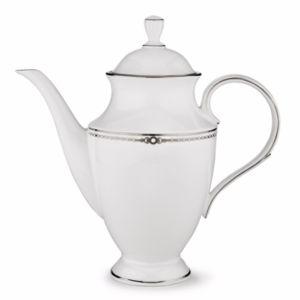 Lenox Pearl Platinum Coffee Pot