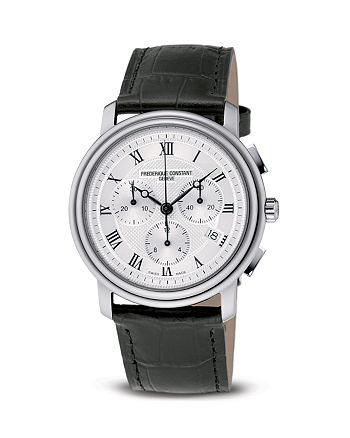 "Frederique Constant - Constant ""Classic"" Quartz Chronograph Watch, 40mm"