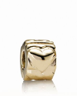 Moments Collection 14 K Gold Heart Clip by Pandora