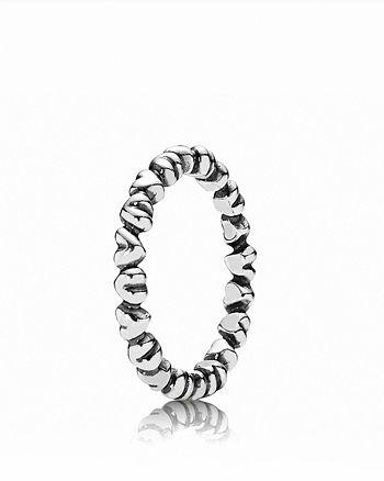 PANDORA - Sterling Silver Forever Love Ring