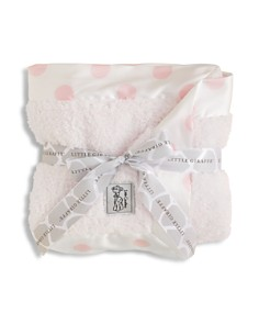 Little Giraffe - Infant Girls' Chenille Polkadot Blanket