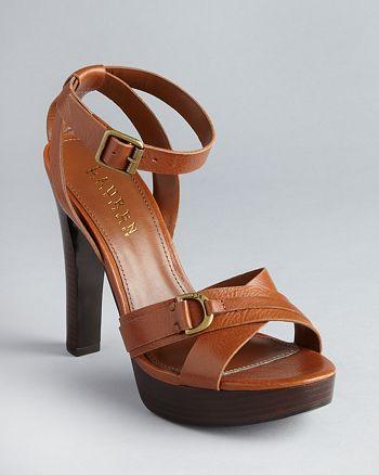 f2d164be431e Lauren by Ralph Lauran Strappy Platform Sandals - Falan High-Heel