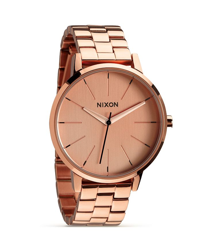 Nixon - The Kensington All Rose Gold Watch, 36.5mm