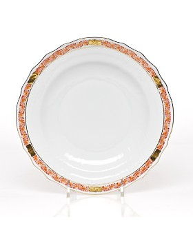 Herend - Chinese Bouquet Salad Plate, Garland Rust